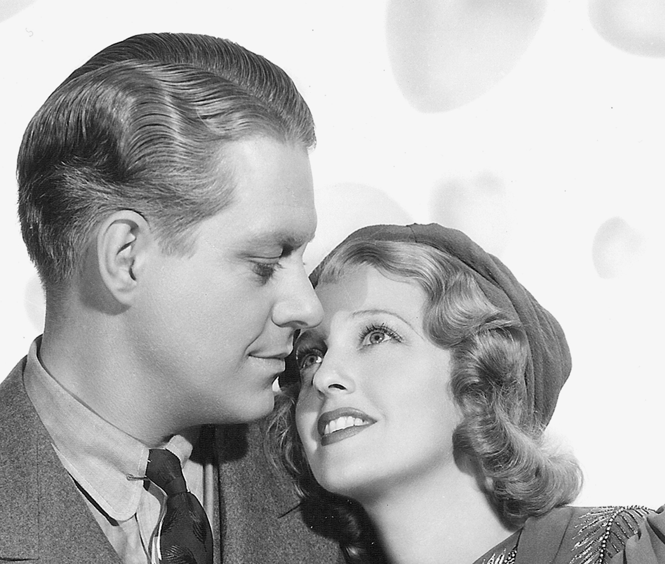 Jeanette MacDonald and her frequent co-star Nelson Eddy