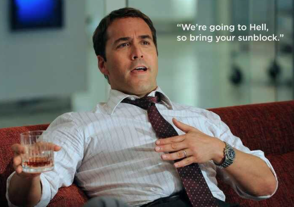 Jeremy Piven as Ari Gold from HBO's Entourage