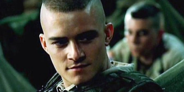 Orlando Bloom as Blackburn in Black Hawk Down