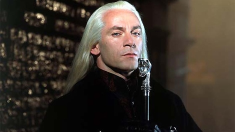 Jason Isaacs as Lucius Malfoy in the Harry Potter movies