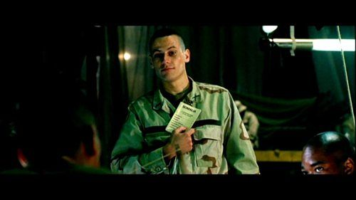 Ioan Gruffudd as Beales in Black Hawk Down