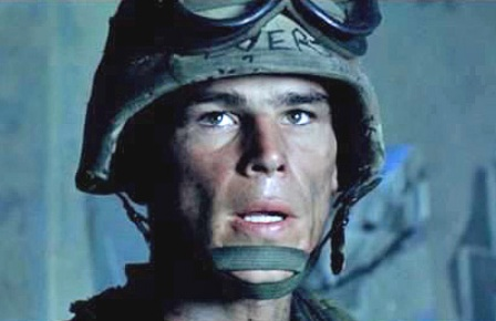 Josh Hartnett as Evermann in Black Hawk Down