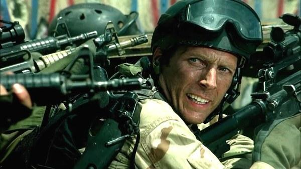 William Fichtner as Sanderson in Black Hawk Down
