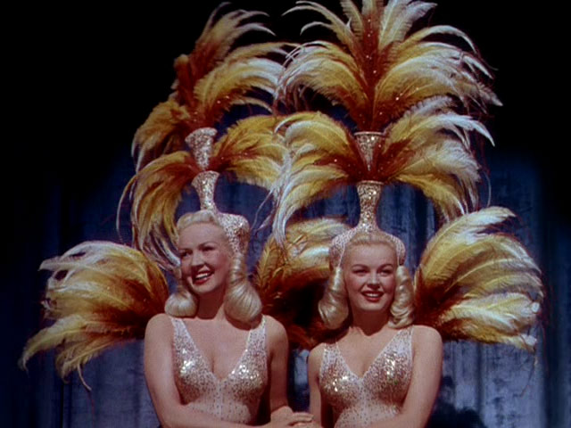 Image result for june haver and betty grable in the dolly sisters