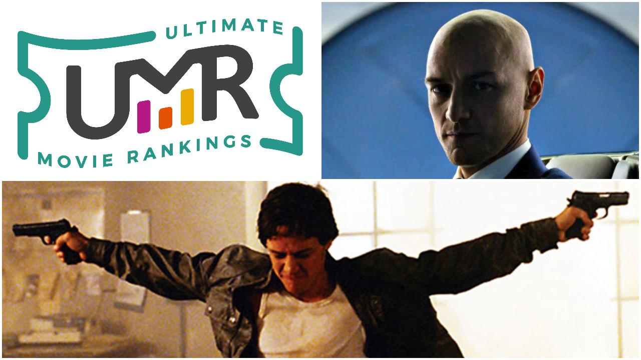 James McAvoy Movies | Ultimate Movie Rankings
