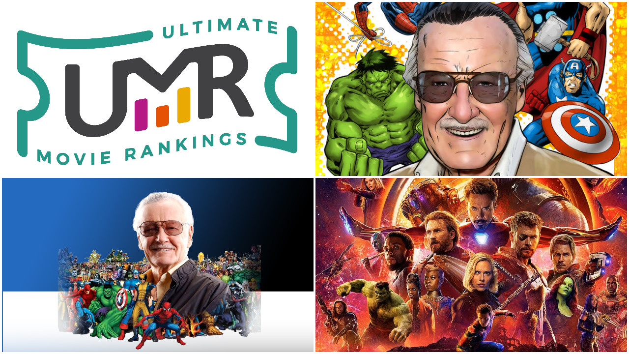 Stan Lee Marvel Movies | Ultimate Movie Rankings