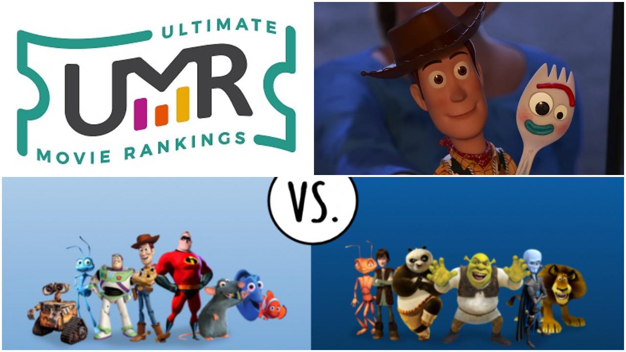 Pixar Movies vs DreamWorks Movies | Ultimate Movie Rankings